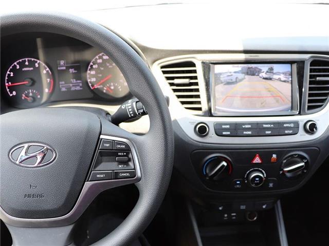 2019 Hyundai Accent Preferred| Gas Saver| Backup Cam| Heat Seat (Stk: 5449) in Stoney Creek - Image 13 of 17