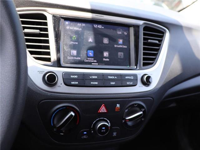 2019 Hyundai Accent Preferred| Gas Saver| Backup Cam| Heat Seat (Stk: 5449) in Stoney Creek - Image 17 of 17