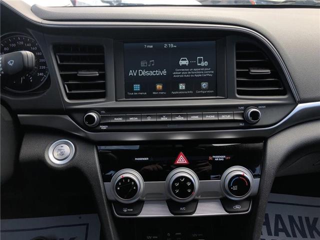 2019 Hyundai Elantra Preferred||SUNROOF|REAR CAMERA|BLUETOOTH| (Stk: WC18184) in BRAMPTON - Image 15 of 18