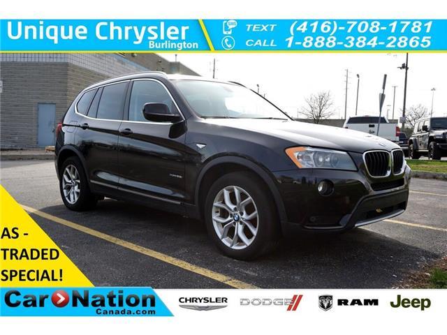 2013 BMW X3 xDrive28i| AS-IS| PREMIUM PKG| (Stk: J551A) in Burlington - Image 1 of 44