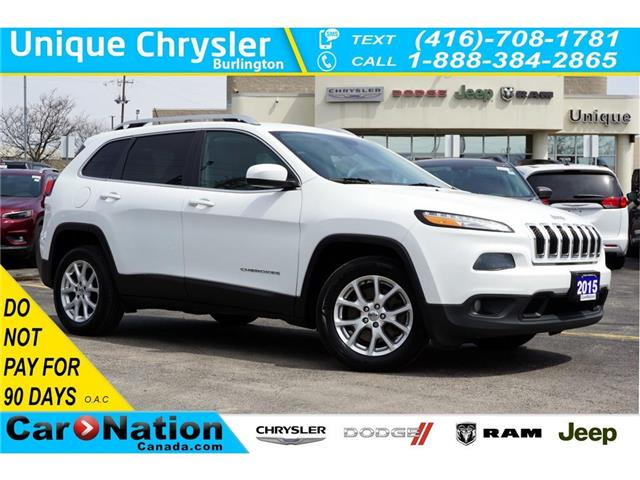 2015 Jeep Cherokee NORTH| REAR CAM| NAV-READY| REMOTE START & MORE (Stk: K333A) in Burlington - Image 1 of 47