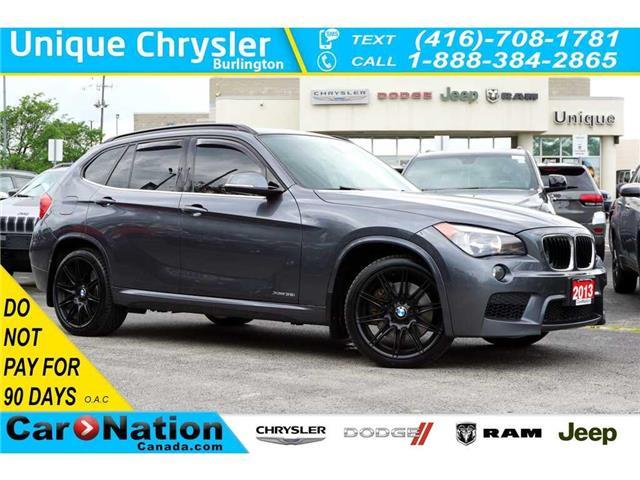 2013 BMW X1 xDrive35i| M SPORTLINE| NAV| RED NEVADA LEATHER (Stk: K372B) in Burlington - Image 1 of 50