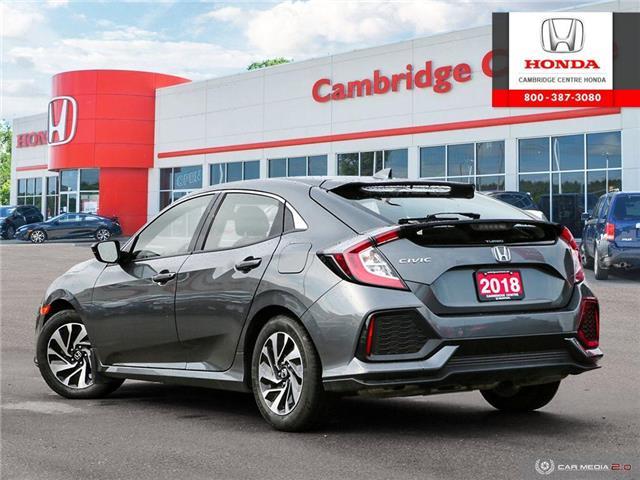 2018 Honda Civic LX (Stk: U4967) in Cambridge - Image 4 of 27