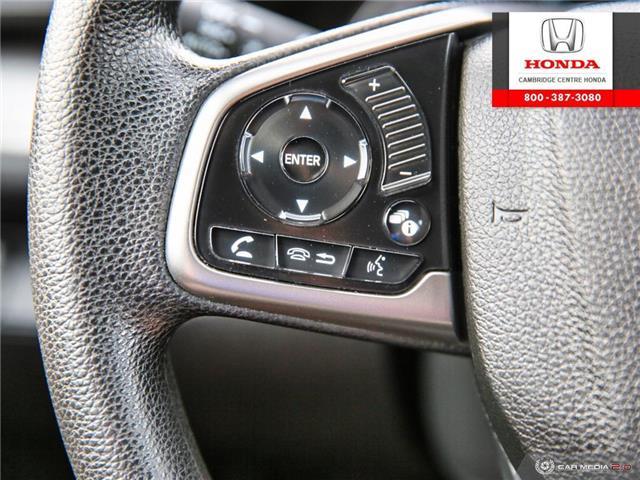 2018 Honda Civic LX (Stk: U4967) in Cambridge - Image 18 of 27