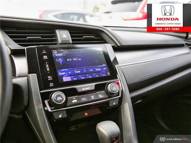 2018 Honda Civic LX (Stk: U4967) in Cambridge - Image 20 of 27