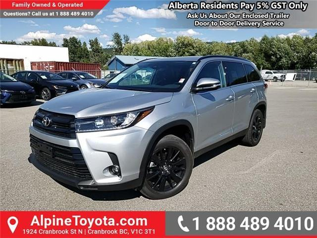 2019 Toyota Highlander XLE AWD SE Package (Stk: S599133) in Cranbrook - Image 1 of 24