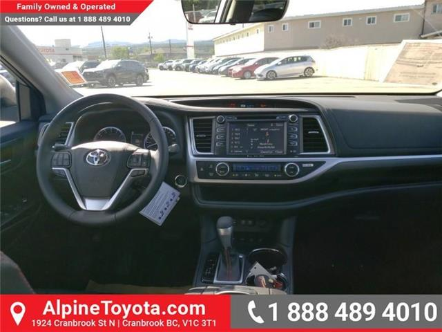 2019 Toyota Highlander XLE AWD SE Package (Stk: S599133) in Cranbrook - Image 10 of 24