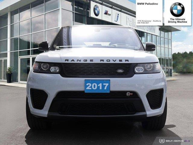 2017 Land Rover Range Rover Sport V8 Supercharged (Stk: U0062) in Sudbury - Image 2 of 21