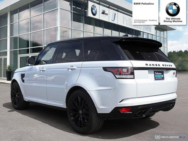 2017 Land Rover Range Rover Sport V8 Supercharged (Stk: U0062) in Sudbury - Image 4 of 21