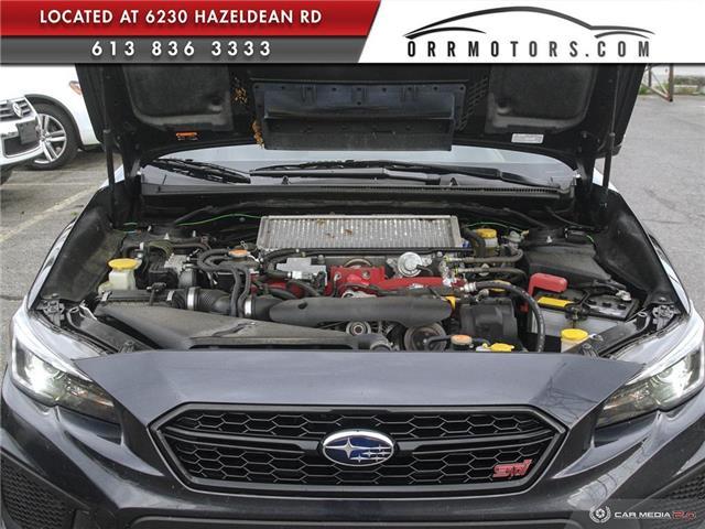 2018 Subaru WRX STI Sport-tech w/Lip (Stk: 5844-1) in Stittsville - Image 7 of 29