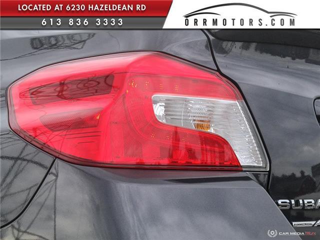 2018 Subaru WRX STI Sport-tech w/Lip (Stk: 5844-1) in Stittsville - Image 11 of 29