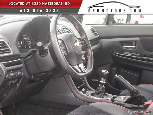 2018 Subaru WRX STI Sport-tech w/Lip (Stk: 5844-1) in Stittsville - Image 13 of 29