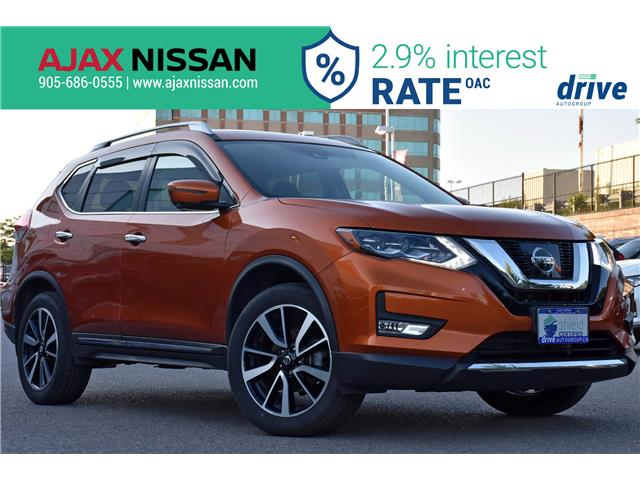 2017 Nissan Rogue SL Platinum (Stk: P4199) in Ajax - Image 1 of 33
