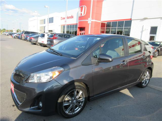 2012 Toyota Yaris SE (Stk: VA3552) in Ottawa - Image 1 of 11
