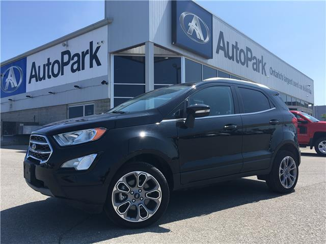 2018 Ford EcoSport Titanium (Stk: 18-01233RJB) in Barrie - Image 1 of 28