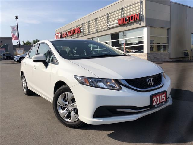 2015 Honda Civic LX (Stk: P0099) in Milton - Image 1 of 16