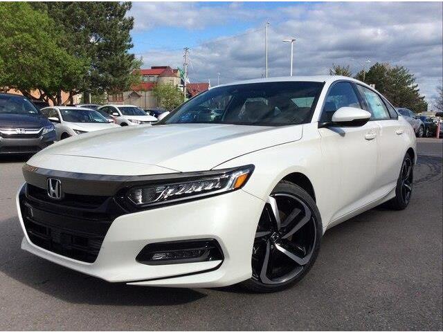 2019 Honda Accord Sport 1.5T (Stk: 19-0158) in Ottawa - Image 1 of 16