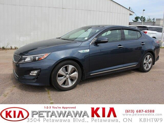 2014 Kia Optima Hybrid EX (Stk: 19068-1) in Petawawa - Image 1 of 22