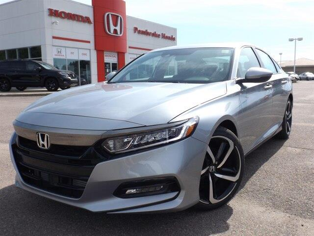 2019 Honda Accord Sport 1.5T (Stk: 19048) in Pembroke - Image 1 of 25