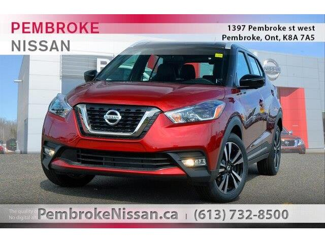 2019 Nissan Kicks SR (Stk: 19235) in Pembroke - Image 1 of 20