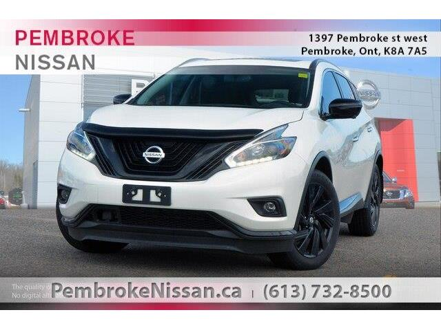 2018 Nissan Murano Midnight Edition (Stk: 18437A) in Pembroke - Image 1 of 20