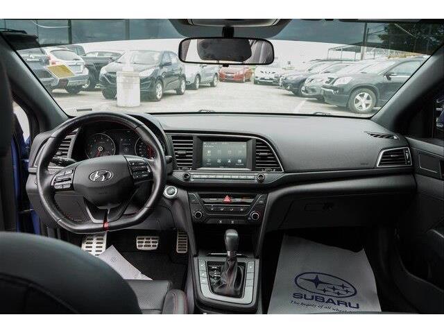 2018 Hyundai Elantra Sport (Stk: P2082A) in Ottawa - Image 10 of 23