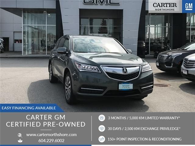 2014 Acura MDX Navigation Package (Stk: 8R55801) in North Vancouver - Image 1 of 29