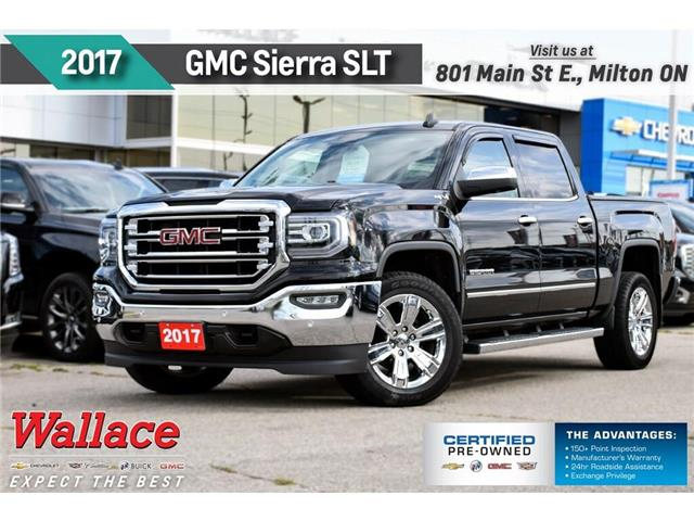 2017 GMC Sierra 1500 SLT/V8/TRAILR PK/20s/HTD&CLD LTHR STS/HTD WHL/NAV (Stk: PL5242) in Milton - Image 1 of 28