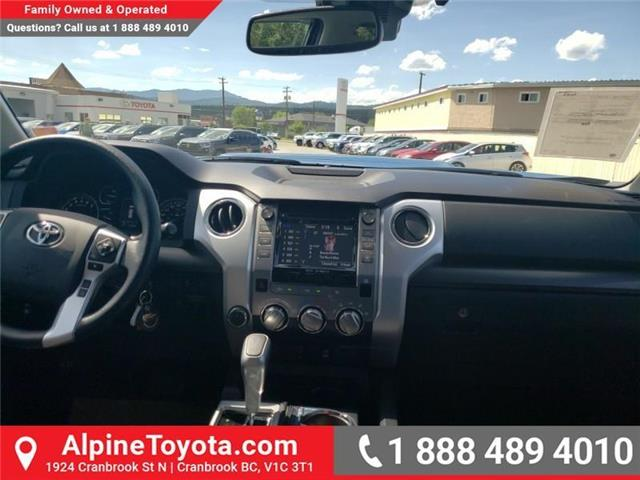 2019 Toyota Tundra TRD Sport Package (Stk: X778018) in Cranbrook - Image 10 of 24