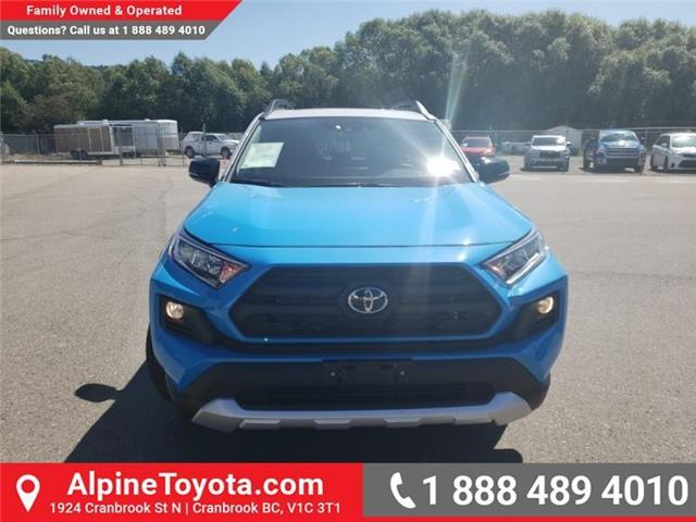 2019 Toyota RAV4 Trail (Stk: C015193) in Cranbrook - Image 8 of 26