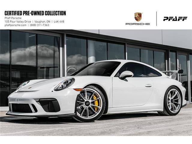 2018 Porsche 911 GT3 (Stk: U7759) in Vaughan - Image 1 of 22