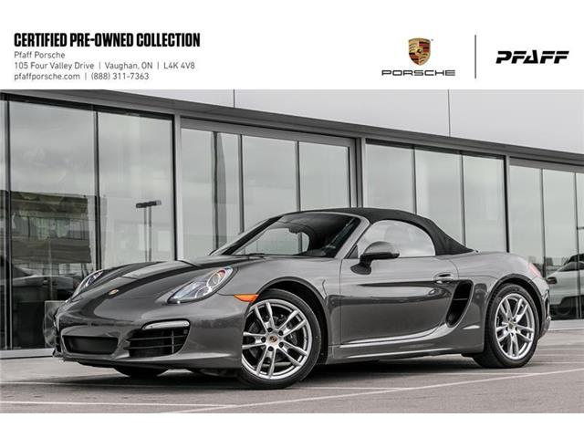 2016 Porsche Boxster PDK (Stk: U7807) in Vaughan - Image 1 of 22