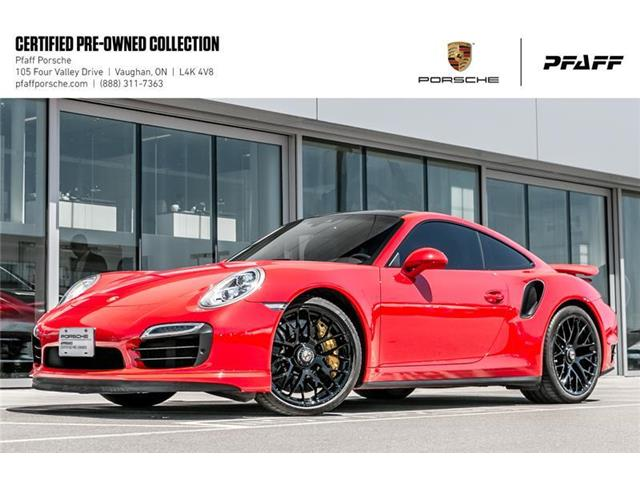 2015 Porsche 911 Turbo S Coupe PDK (Stk: U7877) in Vaughan - Image 1 of 22