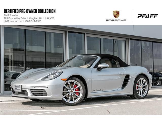 2017 Porsche 718 Boxster S (Stk: U7890) in Vaughan - Image 1 of 22