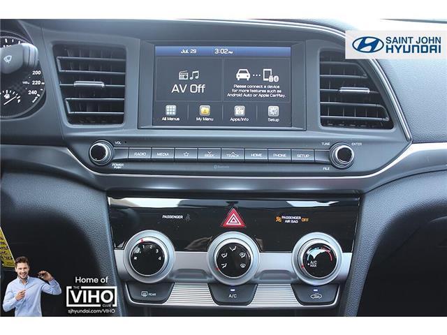 2019 Hyundai Elantra  (Stk: U2246) in Saint John - Image 13 of 18