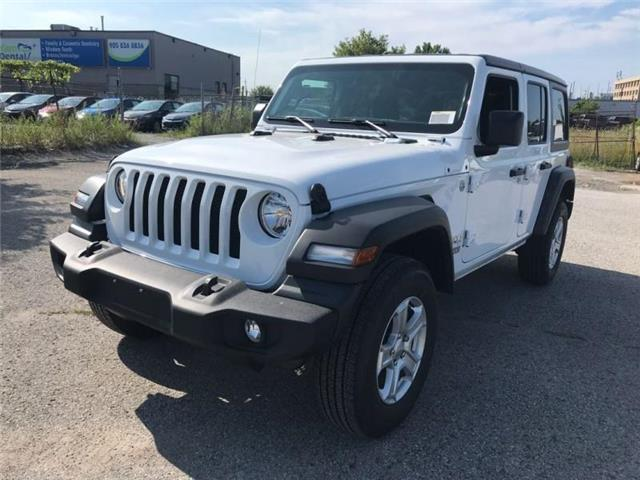 2019 Jeep Wrangler Unlimited Sport (Stk: W19211) in Newmarket - Image 1 of 22