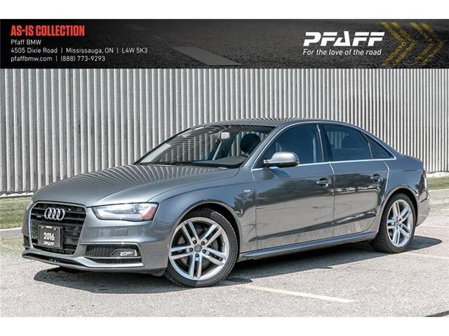 2016 Audi A4 2.0T Technik plus (Stk: U5584) in Mississauga - Image 1 of 22