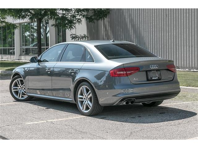 2016 Audi A4 2.0T Technik plus (Stk: U5584) in Mississauga - Image 4 of 22