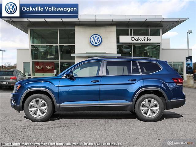 2019 Volkswagen Atlas 3.6 FSI Highline (Stk: 21536) in Oakville - Image 3 of 23