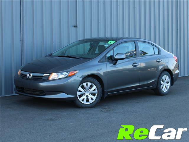 2012 Honda Civic LX (Stk: 190855A) in Fredericton - Image 1 of 8