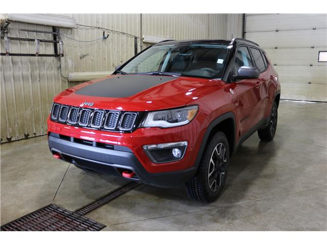 2019 Jeep Compass Trailhawk (Stk: KT103) in Rocky Mountain House - Image 1 of 27