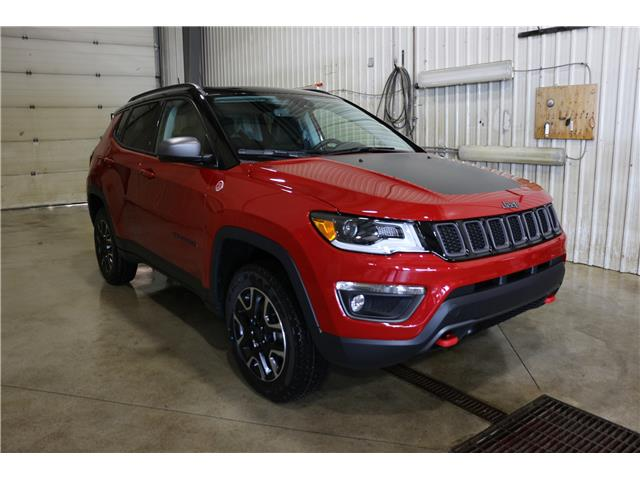 2019 Jeep Compass Trailhawk (Stk: KT103) in Rocky Mountain House - Image 3 of 27