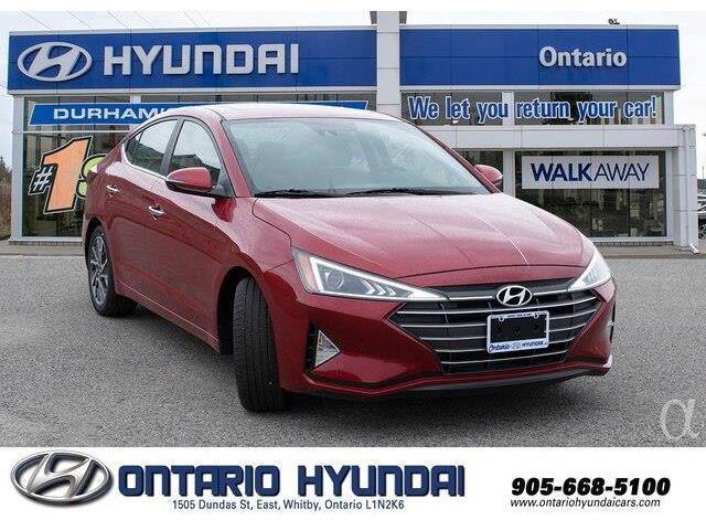 2020 Hyundai Elantra Luxury (Stk: 906354) in Whitby - Image 10 of 21