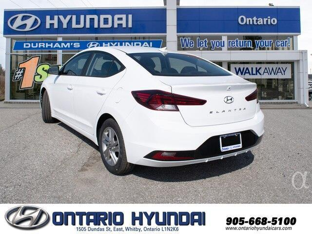 2020 Hyundai Elantra Preferred w/Sun & Safety Package (Stk: 928000) in Whitby - Image 6 of 17