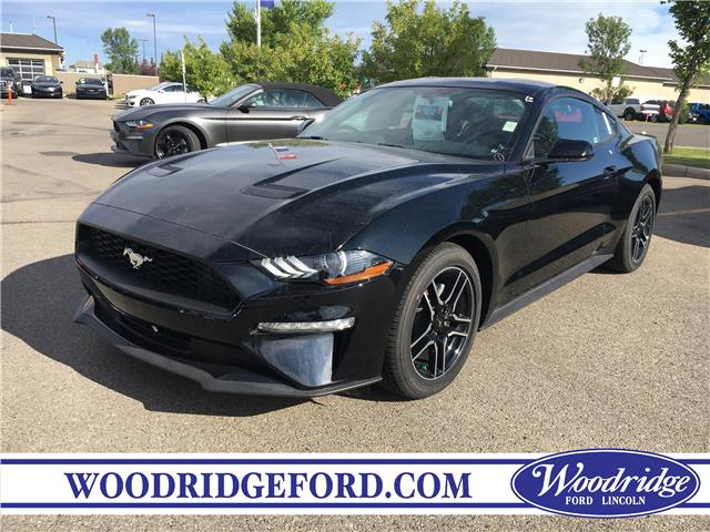 2019 Ford Mustang EcoBoost (Stk: K-05) in Calgary - Image 1 of 5