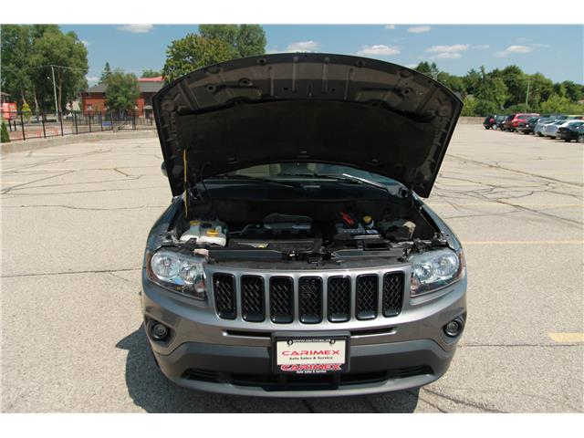 2013 Jeep Compass Sport/North (Stk: 1907315) in Waterloo - Image 26 of 28