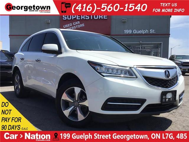 2014 Acura MDX AWD | 7 PASS | LEATHER | BU CAM|SUN ROOF|PWR GATE (Stk: P12429) in Georgetown - Image 1 of 34
