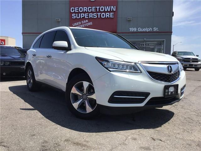 2014 Acura MDX AWD | 7 PASS | LEATHER | BU CAM|SUN ROOF|PWR GATE (Stk: P12429) in Georgetown - Image 2 of 34