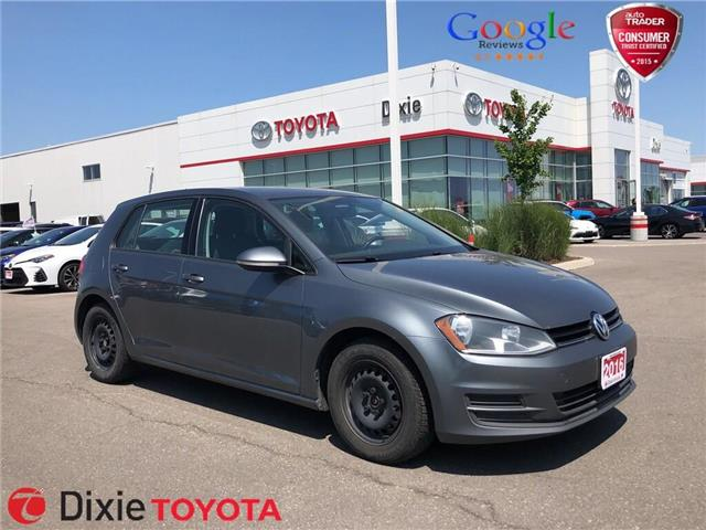 2016 Volkswagen Golf 1.8 TSI (Stk: D191984A) in Mississauga - Image 1 of 13