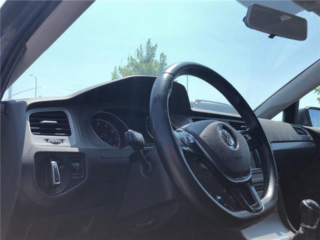 2016 Volkswagen Golf 1.8 TSI (Stk: D191984A) in Mississauga - Image 10 of 13